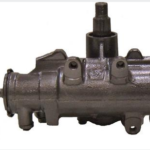 Power steering gear box for 1973 to 1976 Oldsmobile Omega.
